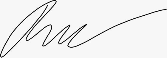 Rebecka Fredriksson signatur